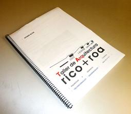 Dosier Blog Taller de Arquitectura Rico+Roa