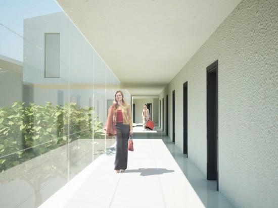 Galería de habitaciones. Copyright Andaluza de imagen